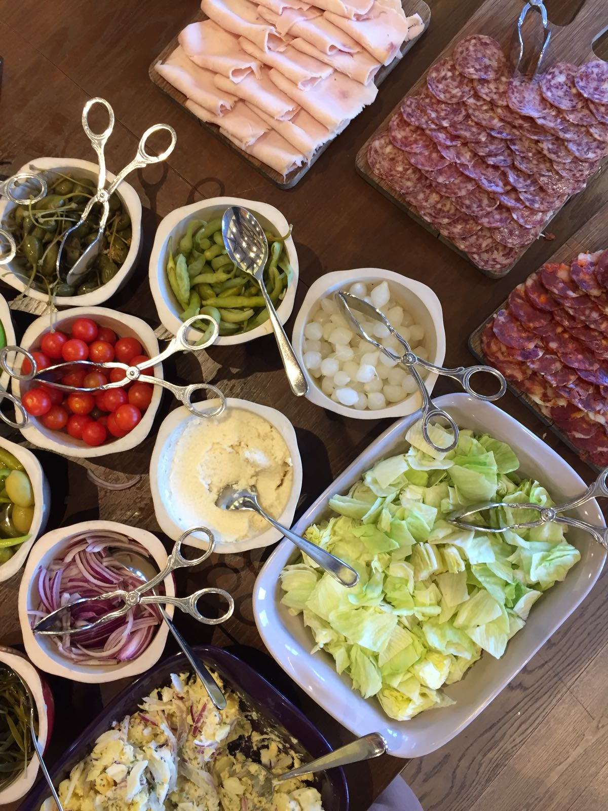Breakfast buffet at Park Hyatt Mallorca
