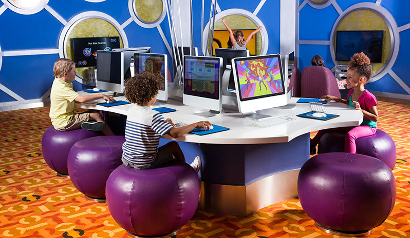 The Kids club at Atlantis the Palm, Dubai
