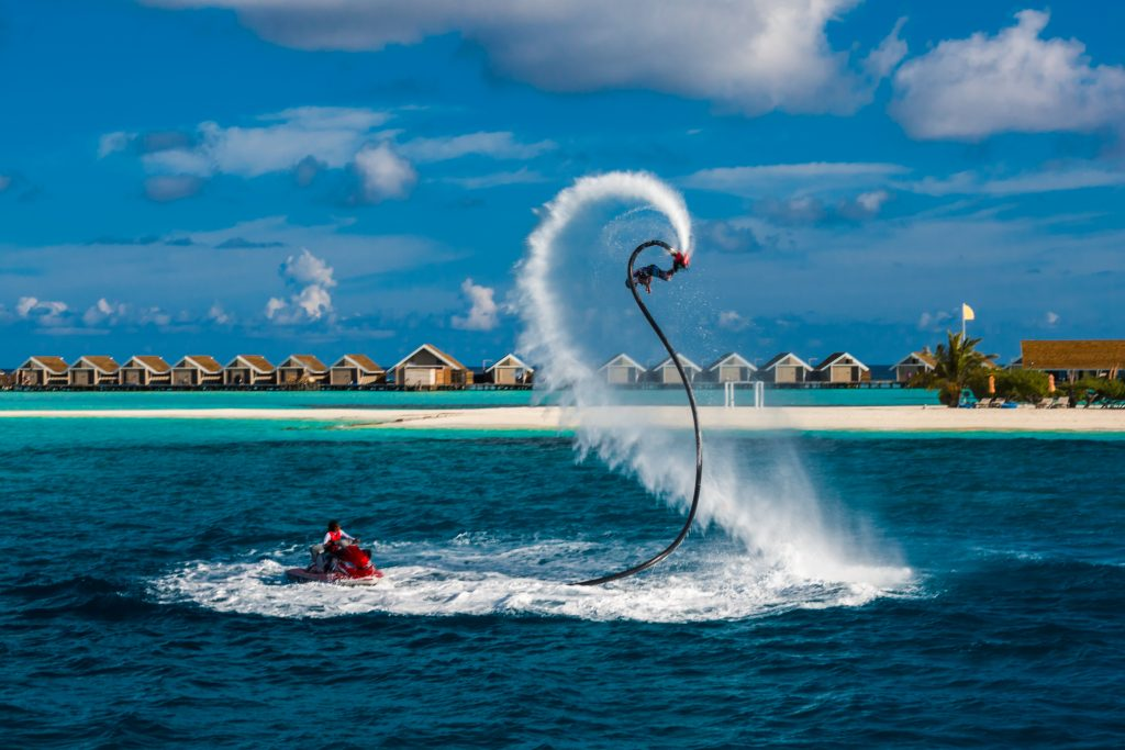 Try some different water sports