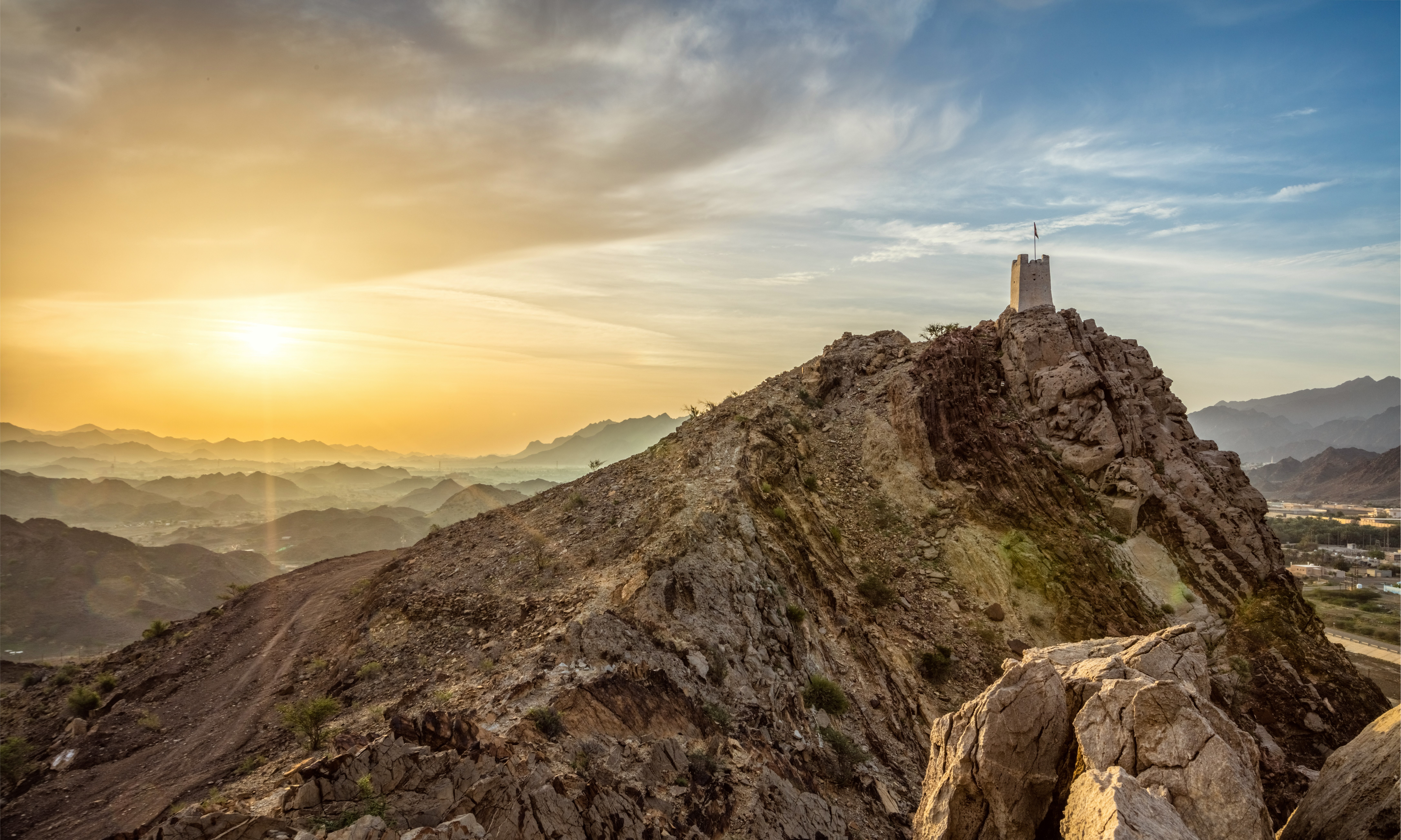 Discover Middle East Secrets of Ajman at Masfout Fort