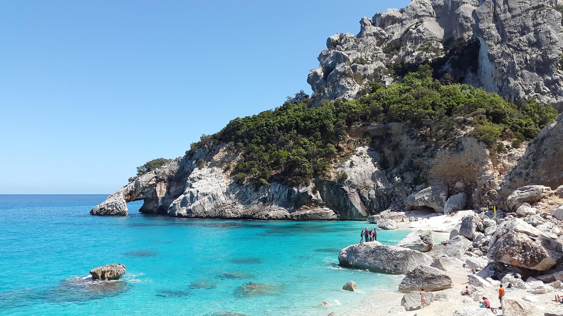 Beach in Sardinia