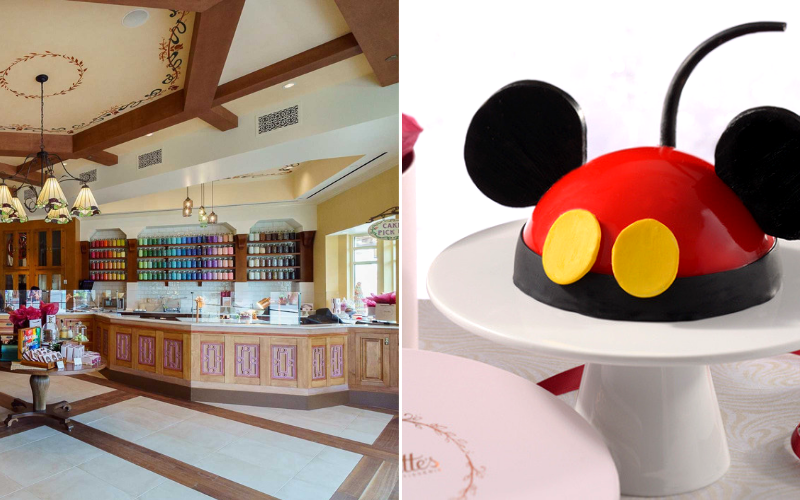 Best Hotel Bakeries: Amorette's Patisserie, Disney World