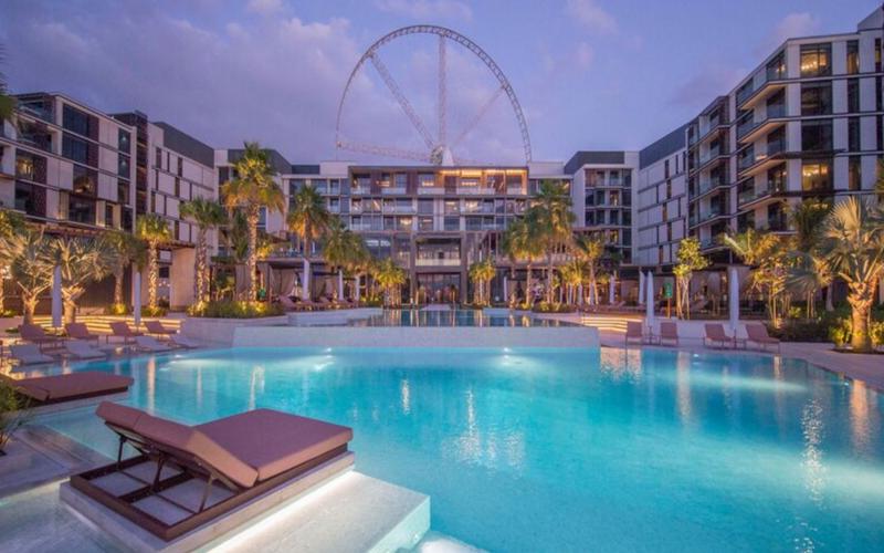 Travel with teens: Caesars Palace Bluewaters Dubai