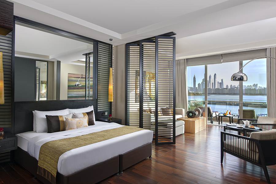 The Deluxe Room at Rixos The Palm with Kenwood Travel