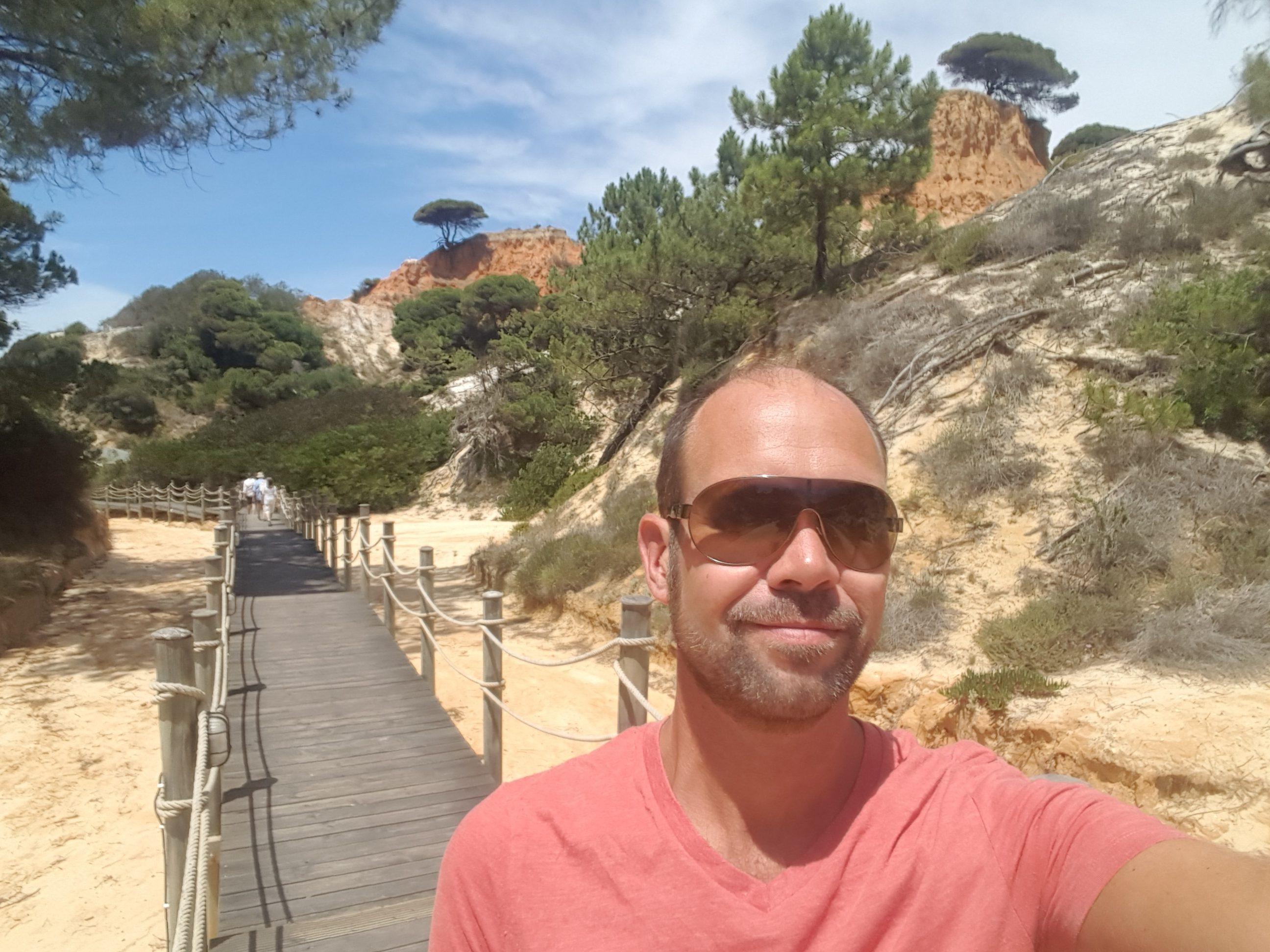 Alex in the Algarve