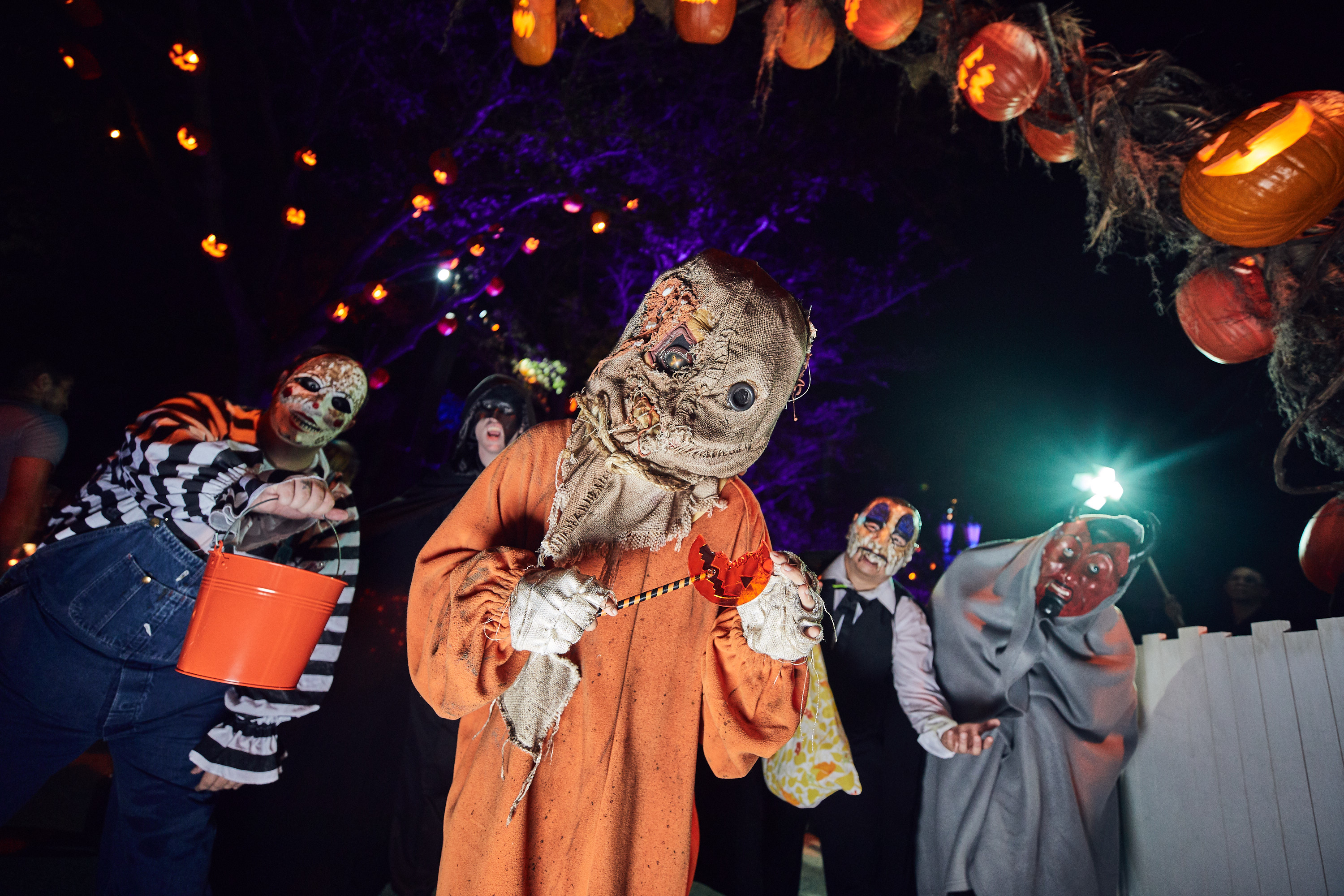 Trick or treat Scarezone at Universal Orlando