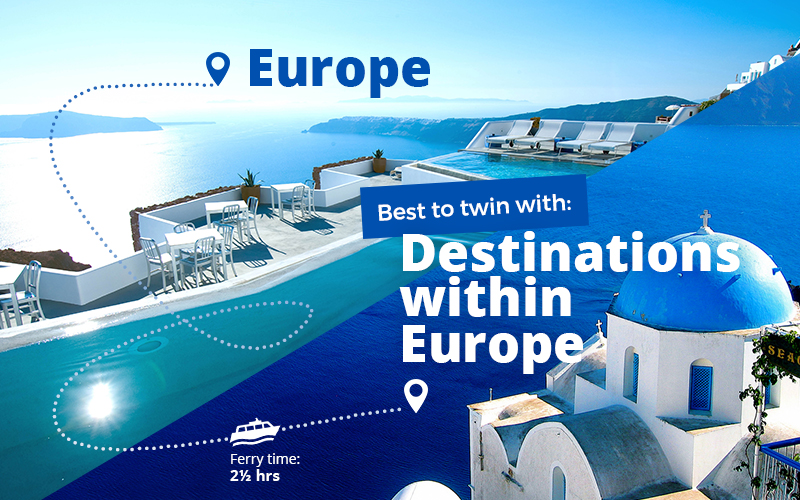 Twin centre holidays in Europe