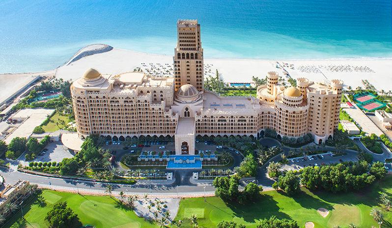 Talk about the WOW factor! Waldorf Astoria Ras Al Khaimah
